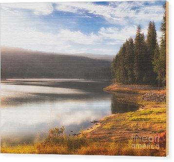 Soft Sunrise Wood Print