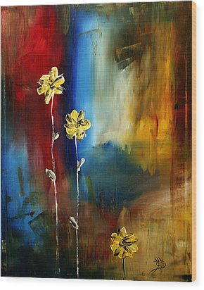 Soft Touch Wood Print by Megan Duncanson