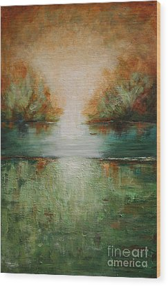 Soft Tumbleweed Wood Print