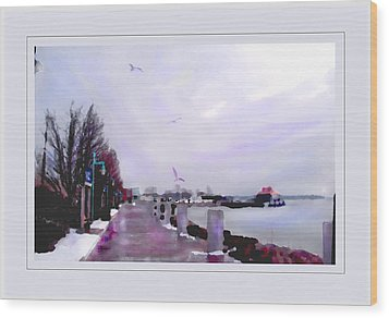 Wood Print featuring the photograph Soft Winter Day by Felipe Adan Lerma