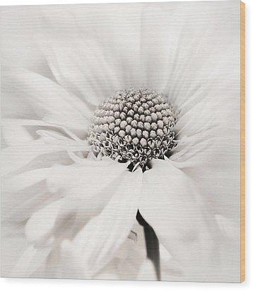Wood Print featuring the photograph Soiree In Black N White by Darlene Kwiatkowski
