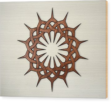 Sol Eight Wood Print