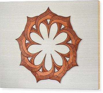 Sol Nine Wood Print