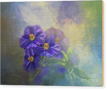 Solanum Wood Print