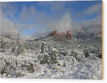 Soldier Pass Morning Wood Print by Gary Kaylor