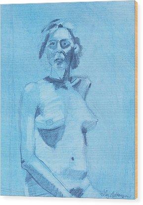 Solemnity Wood Print