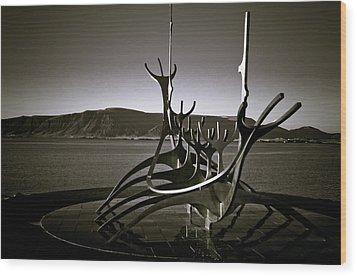 Solfar - Sun Voyager Wood Print