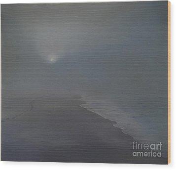 Solitude 1 Wood Print by Katerina Wert