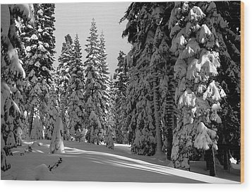 Solitude Wood Print by Kathy Yates