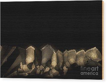 Solitude Wood Print by Olimpia - Hinamatsuri Barbu