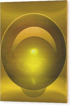 Solstice Wood Print by John Krakora