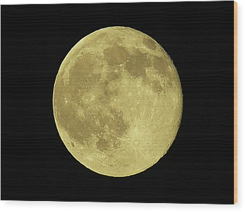 Solstice Moon Wood Print