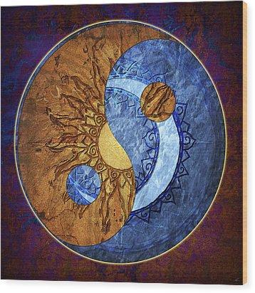 Soluna Wood Print