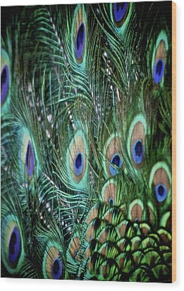 Someone Is Watching You Wood Print by Odd Jeppesen
