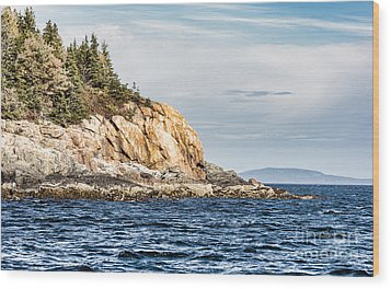 Wood Print featuring the photograph Somes Sound by Anthony Baatz