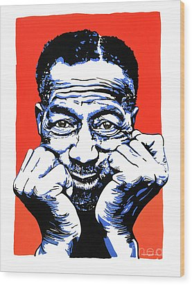 Son House. Wood Print