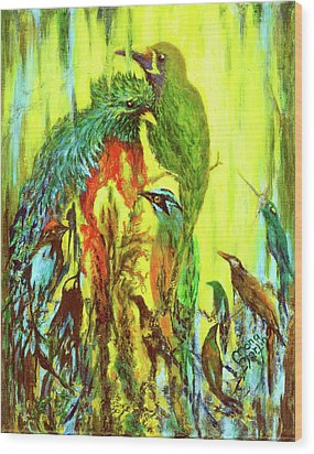 Song Of Costa Rica Wood Print