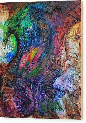 Song Of Dreams Wood Print by Sofanya White