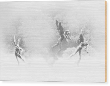 Song Of The Angels Wood Print by Bill Cannon