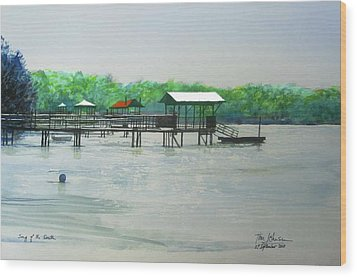 Song Of The South Wood Print by Tim Johnson