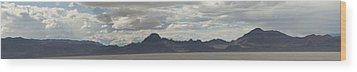Wood Print featuring the photograph Sonneville Salt Flat2 by Daniel Hebard