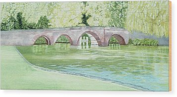 Sonning Bridge  Wood Print
