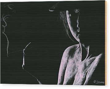 Sophisticate Wood Print by Richard Young