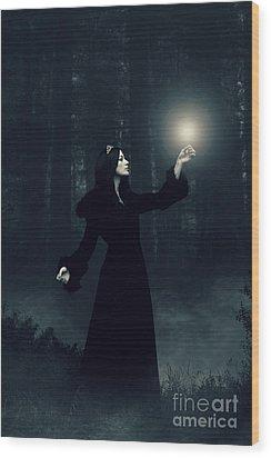 Sorcery Wood Print