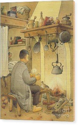 Sorcery Wood Print by Kestutis Kasparavicius