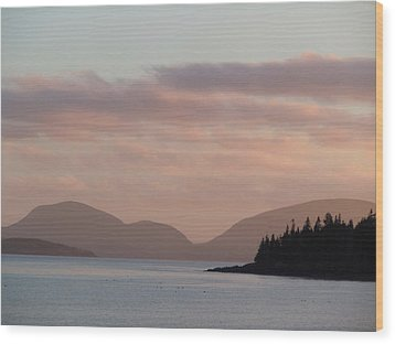 Wood Print featuring the photograph Sorrento Sunset by Francine Frank