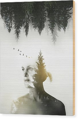 Wood Print featuring the photograph Soul Of Nature by Nicklas Gustafsson