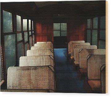 Soul Train Wood Print by RC deWinter