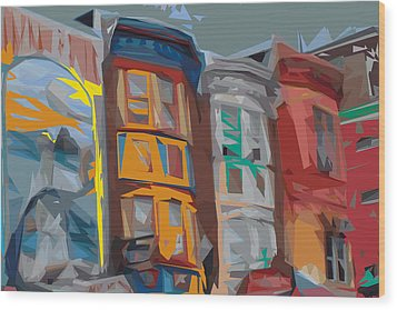South Street Revisited Wood Print by Kevin  Sherf