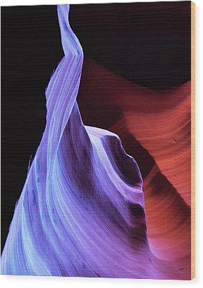 South West Light Wood Print