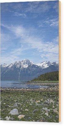 Southeast Alaskan Summer Wood Print