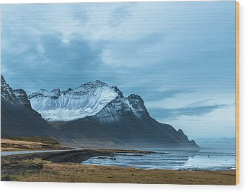 Southeast Iceland Countryside Wood Print