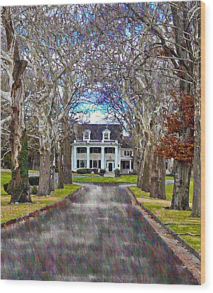 Southern Gothic Wood Print by Bill Cannon