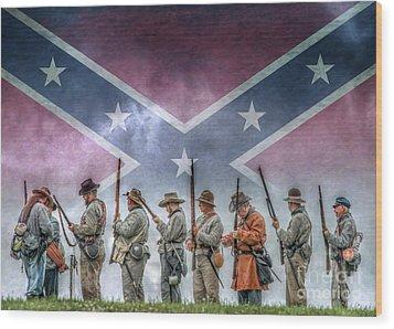 Southern Heritage Southern Pride Wood Print