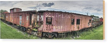 Southern Railroad Wood Print by Fred Baird