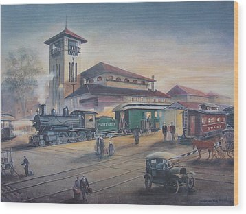 Southern Railway Wood Print by Charles Roy Smith