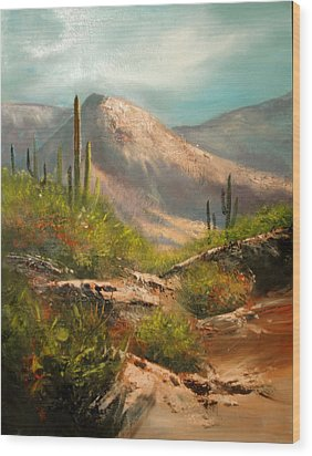 Southwest Beauty Wood Print by Robert Carver