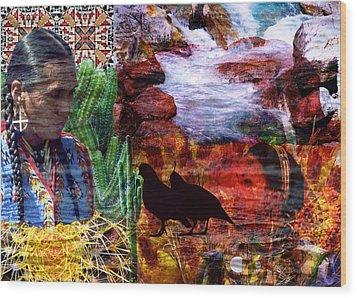 Southwest Wood Print