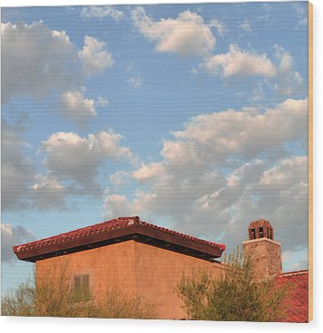 Southwest Skyscape Wood Print