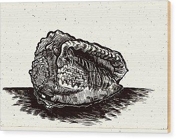 Souvenir From A Fun Day  Wood Print by Al Goldfarb