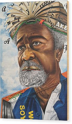 Soyinka An African Literary Icon Wood Print