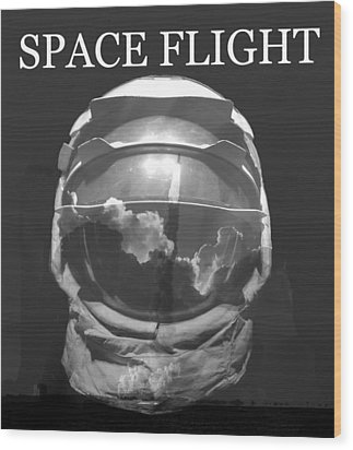 Wood Print featuring the photograph Space Flight by David Lee Thompson