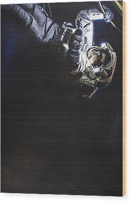 Spacewalk 1  Wood Print