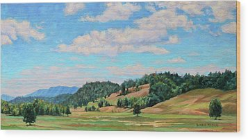 Spacious Skies Wood Print
