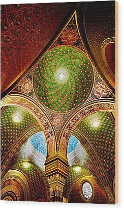 Spanish Synagogue Wood Print