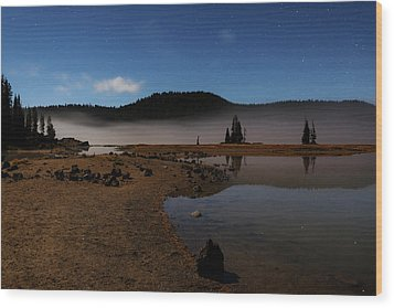 Wood Print featuring the photograph Sparks Lake At Dawn by Cat Connor